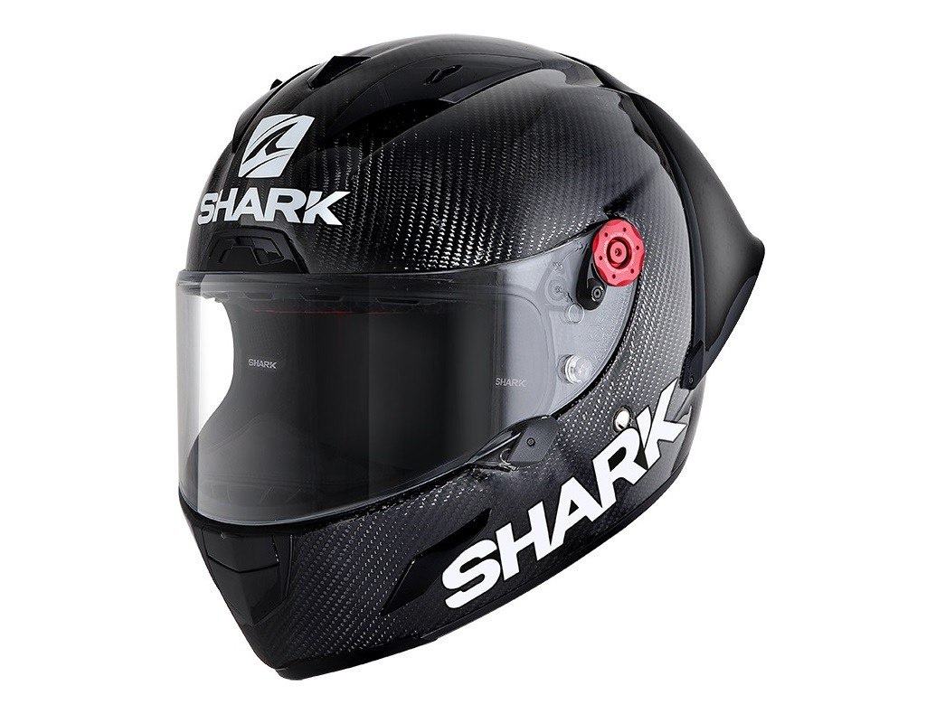 SHARK RACE-R PRO GP CARBON BLACK FIM