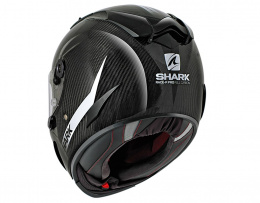 SHARK RACE-R PRO CARBON SKIN WHITE BLACK