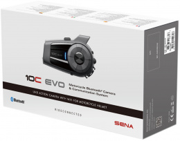 SENA 10C EVO BLUETOOTH 1600m KAMERA ULTRA HD 4K