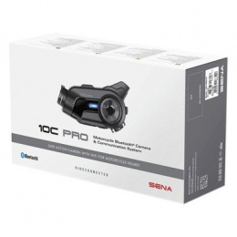 SENA 10C PRO BLUETOOTH 1600m KAMERA ULTRA HD 4K
