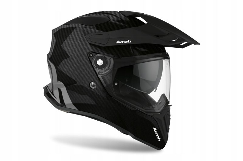KASK AIROH COMMANDER CARBON FULL GLOSS