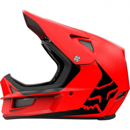 KASK ROWEROWY FOX RAMPAGE COMP INFINITE BRIGHT RED