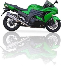 Tłumik IXIL KAWASAKI ZX-14 R '12-13 typ SOVE (SLIP ON, RIGHT & LEFT MUFFLERS)