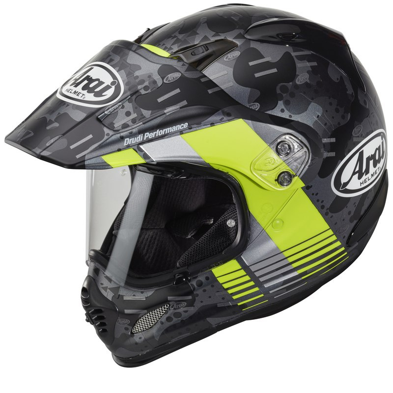 KASK ARAI TOUR-X4 COVER FLUOR YELLOW