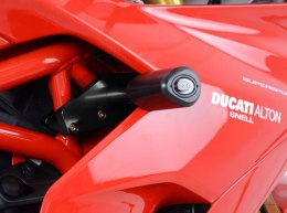 CRASH PADY AERO DUCATI SUPERSPORT (S) 17- BLACK