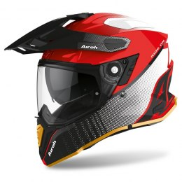 KASK AIROH COMMANDER PROGRESS LIMITED RED GLOSS EDITION S