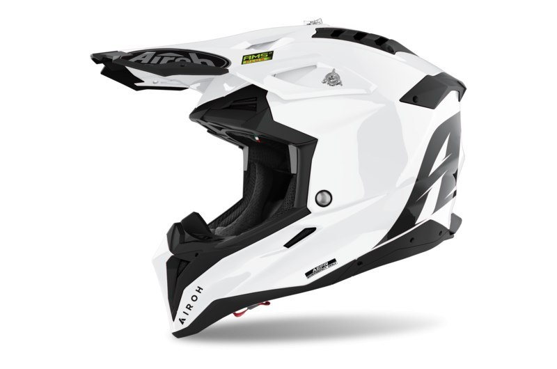 KASK AIROH AVIATOR 3 COLOR WHITE GLOSS