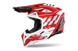KASK AIROH AVIATOR 3 RAMPAGE RED GLOSS
