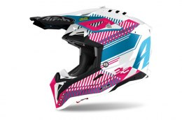 KASK AIROH AVIATOR 3 WAVE PINK GLOSS