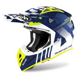 KASK AIROH AVIATOR ACE NEMESI BLUE GLOSS