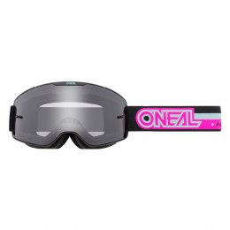 B-20 Gogle PROXY black/pink - gray