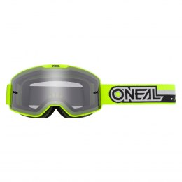 B-20 Gogle PROXY neon yellow/black - gray