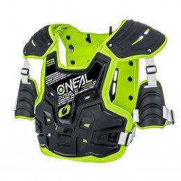 PXR Stone Shield Zbroja black/neon yellow