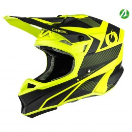 10SRS Hyperlite Kask COMPACT black/neon yellow