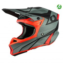 10SRS Hyperlite Kask COMPACT gray/red
