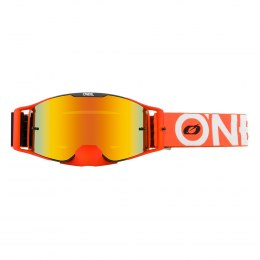 B-30 Gogle BOLD black/orange - radium red