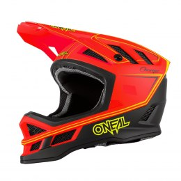 O'NEAL BLADE Hyperlite Kask CHARGER neon red