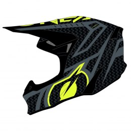 10SRS Carbon Kask RACE black/neon yellow