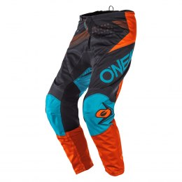 O'NEAL ELEMENT Spodnie FACTOR gray/orange/blue