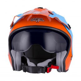 VOLT Kask GULF orange/blue