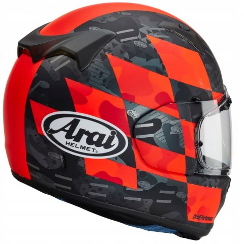 KASK ARAI PROFILE-V PATCH RED