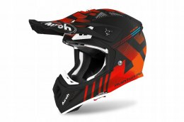 KASK AIROH AVIATOR ACE NEMESI ORANGE MATT